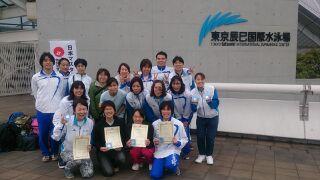 2大会連続日本新記録