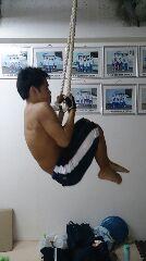 ロープチンニング